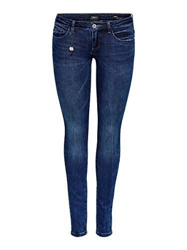 ONLY Damen Skinny Fit Jeans ONLCoral Superlow 3130Medium Blue Denim
