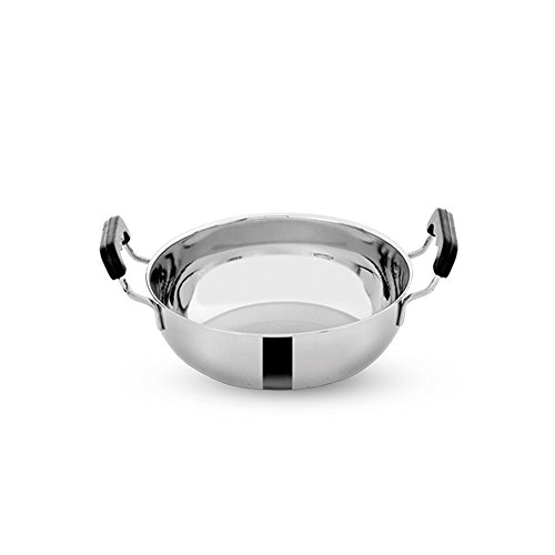 Pigeon Stainless Steel Cookware Set, 7-Pieces, Silver