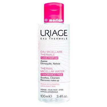 Uriage Agua Thermal Micelar Desmaquillante Piel Con Rojeces, 100ml