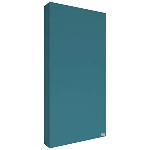 Schallabsorber Premium 100x50x11 cm by Addictive Sound – Akustikplatten Akustikbild – Viele Farben - 12.Seegrün