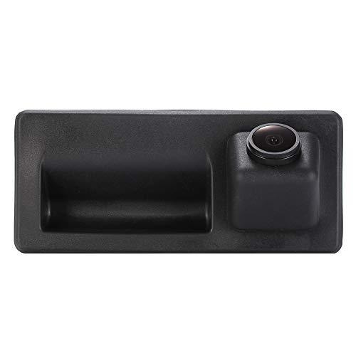 HD CCD Kofferraumgriff Wasserdicht Fahrzeug-spezifische Griffleiste Kamera integriert in Rückansicht Rückfahrkamera für Audi A3 A4 A4L S4 A5 S5 Q3 Q5/Touareg/Golf VI Variant/Skoda/Porsche/Passat