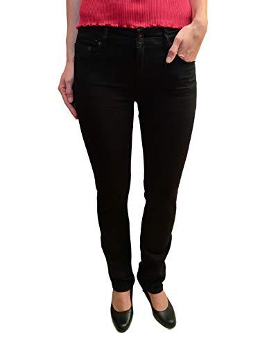 ATT, Amor Trust & Truth Damen Jeans, Stella, NOS, 11051-3501/100, Wonderstretch, Straight Cut, schwarz, Gr.W34/L34