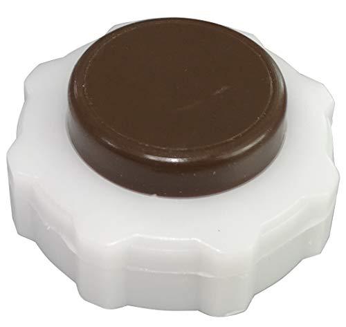 AERZETIX: Tapón del depósito de líquido refrigerante compatible con OEM 7700805031 C43323