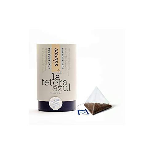 LA TETERA AZUL Infusion De Rooibos Premium Con Menta Y Chocolate. Infusion Relajante. Love Rooibos. Bote De 20 Piramides.