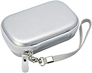 CaseSack Travel Pouch Case with Zipper for Polaroid ZIP Mobile Printer and HP Sprocket, Silver