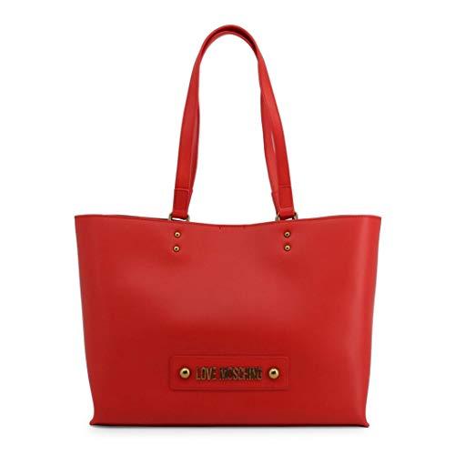 Love Moschino borsa a spalla,logo frontale, pochette interna estraibile con chiusura zip,chiusura borsa a scatto 36x26x11