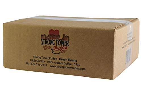 Strong Tower Coffee - 100% Arabica El Salvador Green Coffee Beans (unroasted) (5)
