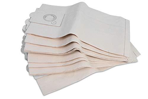 10 bolsas para aspiradora Ghibli AS 7, AS 10, AS 10 P, fabricadas en Alemania, con varias capas