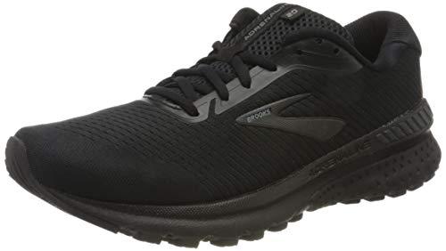 Brooks Mens Adrenaline GTS 20 Running Shoe - Black/Grey - D - 10.0 1