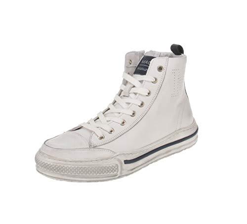 Maca Kitzbühel 2844 - Damen Schuhe Freizeitschuhe - White-Navy, Größe:39 EU