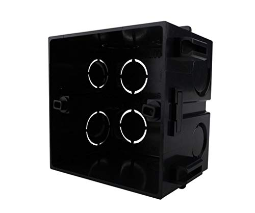 Unterputzdose Schalterdose UK-86-WSMB schwarz 10 Stück Paket