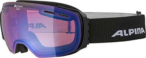 ALPINA GRANBY Skibrille, Unisex– Erwachsene, black, one size