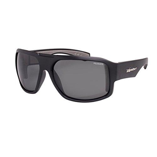Bomber Floating Eyewear Mega Bomb Polarized Sunglasses Matte Black/Smoke