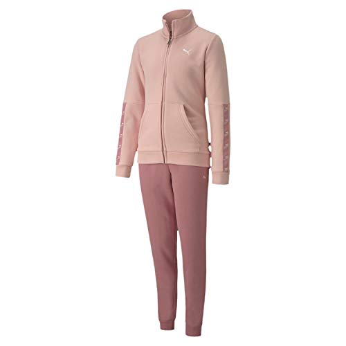 PUMA Sweat Suit G Chándal, Niñas, Rosa, 9-10y