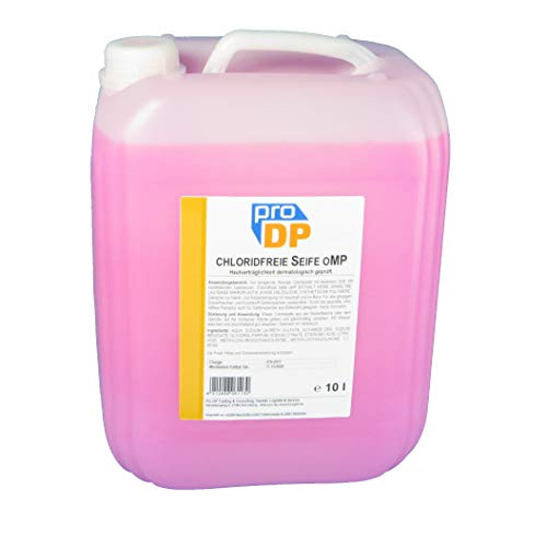 10l Pro DP Cremeseife Handseife Flüssig Bio Seife Spenderseife Rosa ohne Mikroplastik chloridfrei PH-neutral rückfettend - Made in Germany