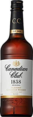 Canadian Club Blended Canadian Whisky (1 x 0.7 l)