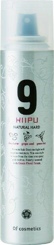 オブ・コスメティックススタイリングスプレーオブヘア・9NHナチュラルハード(軽い仕上がり長時間キープ)125gグリーンフローラルの香り美容室専売ヘアスプレーオブコスメ