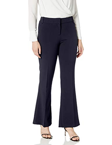 Briggs New York - Pantalones de Ajuste Perfecto para Mujer, Marino, 32