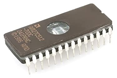 Major Brands 27C512-70 ICS and Semiconductors, EPROM, 70 Nanoseconds, DIP-28, 64K x 8, 5V (Pack of 2)
