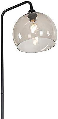 Qazqa Lampadaire | Lampe sur pied Moderne - Maly Lampe Noir - E27 - Convient pour LED - 1 x 25 Watt
