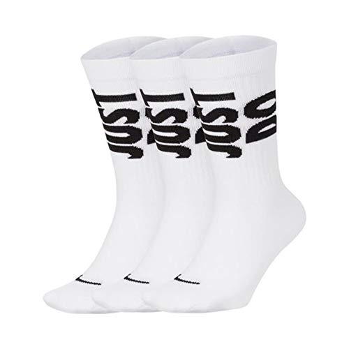 Nike JUST DO IT Calzini unisex bianchi CT0539-100