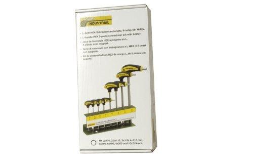Proxxon 22650 L-Griff Schraubendreher HEX Innensechskant 8tlg. HX 2 -10