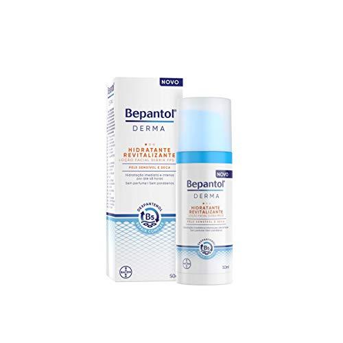 Bepantol Derma Hidratante Revitalizante Loção Facial Diária Fps 25 50Ml, Bepantol