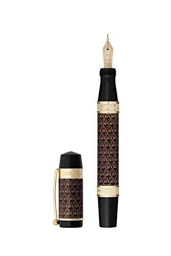 Ancora - Pluma estilográfica con tinta, edición limitada, bolígrafos de moneda, tinta de recambio para caligrafía, bolígrafo de regalo de negocios