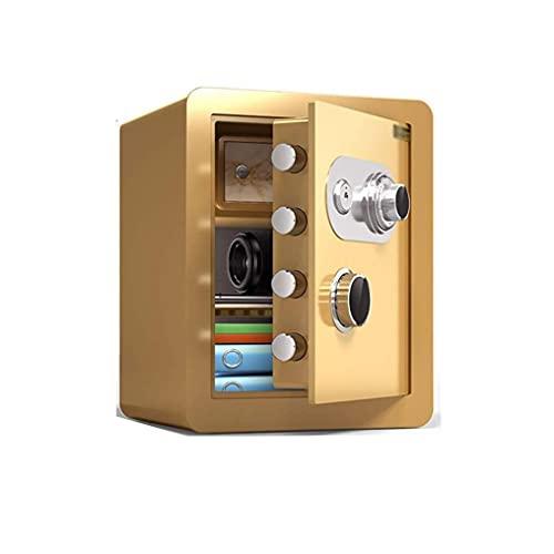 Caja fuerte de seguridad, caja fuerte para el hogar, resistente al fuego, caja fuerte mecánica, caja fuerte para dinero, joyas, documentos, pasaporte, almacenamiento de objetos de valor, resistente a