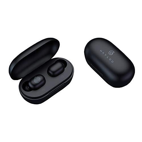 HAYLOU GT1 Pro TWS Auriculares inalámbricos Huella Digital Táctil Auriculares BT 5.0 AAC DSP Reducción de Ruido Llamada binaural Auricular Asistente de Voz Indicador de batería