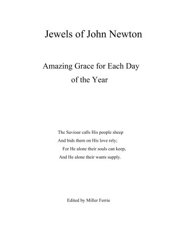 Jewels of John Newton: Amazing Grace for Each Day of the Year