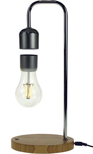 United Entertainment Magnetische zwevende lamp met eikenhouten voet