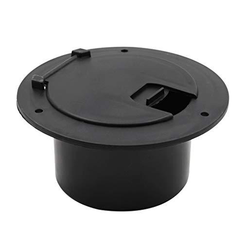 prasku RV remolque Camper Cable de alimentación eléctrica fácil de instalar 13x8.8x6.6cm