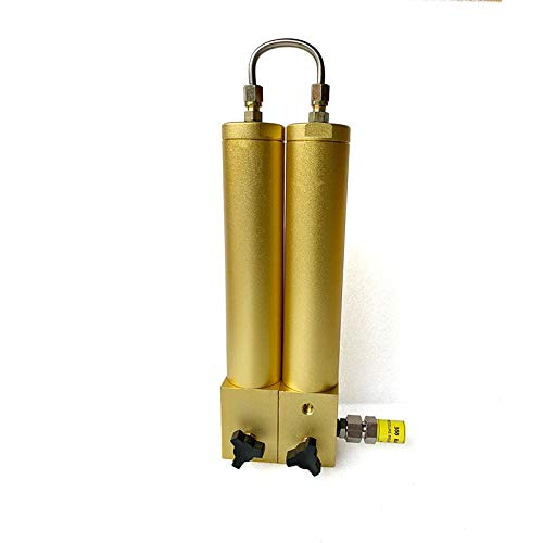 TUXING 4500Psi Pcp Air Filter, External Water-Oil Separator Two Stage Filtration, Safety Valve, Air Compressor Scuba Diving Filter 408mm100mm