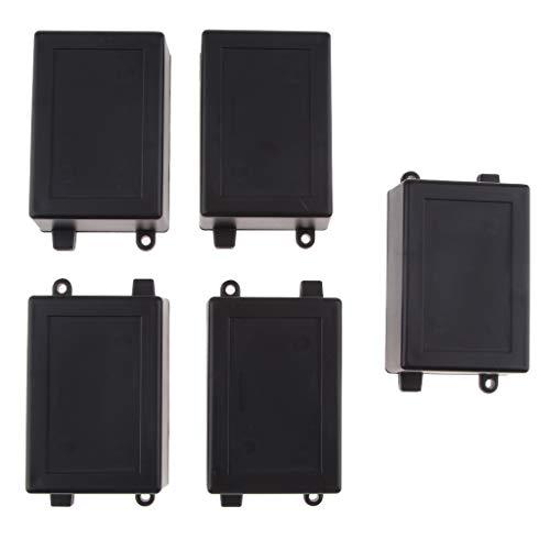 FLAMEER 5 Stücke Kunststoff-Box Universalgehaeuse Kleingehäuse Gehäuse-Anschluss Elektrische Wasserdicht Kunststoff