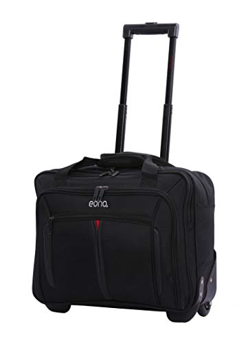 EONO Essentials Rollkoffer Trolley Laptoptrolley Business-Tasche Laptop-Tasche bis 15,6