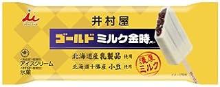 井村屋 ゴールドミルク金時バー 20入