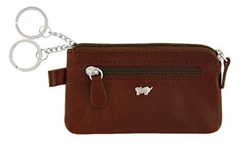Braun Büffel Country Key Case M Schlüsselmäppchen Geldbörse Palisandro Braun Neu