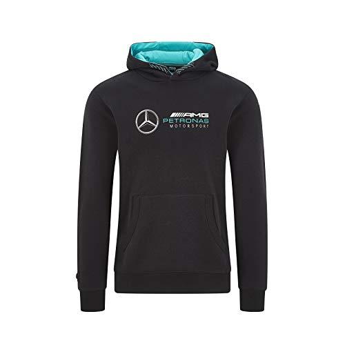 Felpa con Cappuccio Mercedes F1 AMG Petronas Motorsport Team F1 - Nera - L