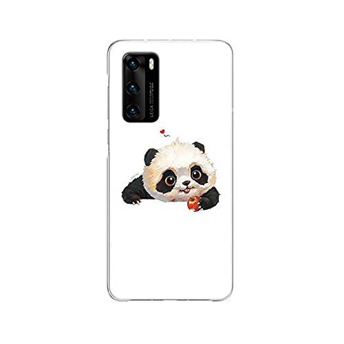 Funda de silicona para Huawei P40 P30 P20 Pro P10 Lite Mate 30 20 10 Shell Back Funda de silicona Coque Cover - C188 (7) - Compatible con Huawei Mate 20