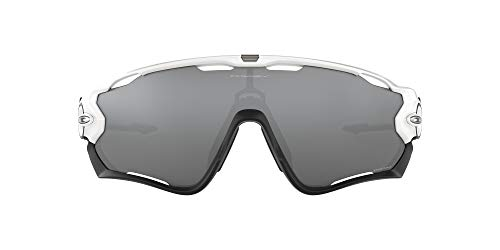 Oakley Jawbreaker, Gafas de Sol para Hombre, Polished White, 31