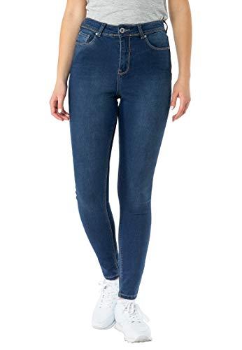 Sublevel Damen 5-Pocket Skinny-Fit High Waist Jeans Blue S