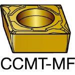 サンドビック コロターン107 旋削用ポジ・チップ 1115 (10個) CCMT 09 T3 02-MF 1115