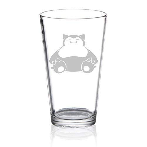 Snorlax - Etched Pint Glass