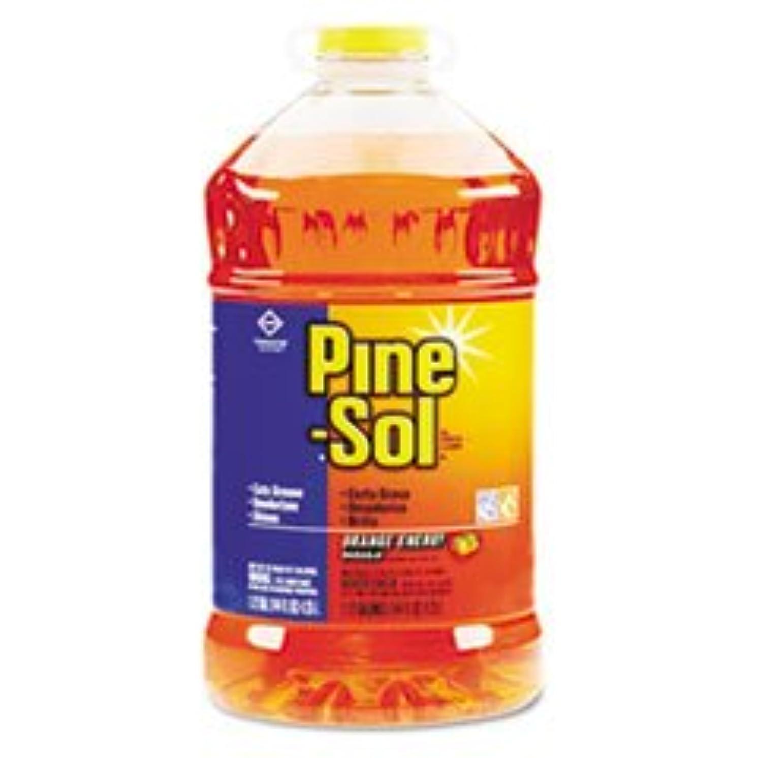 Pine-Sol All-Purpose Cleaner, Orange Scent, 144oz. Bottle, 3/carton