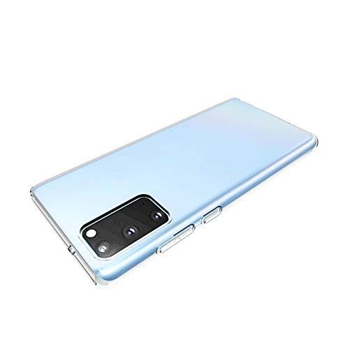 LISUONG MCDC AYYD for Samsung Galaxy Note20 Funda Protectora Transparente Brillante