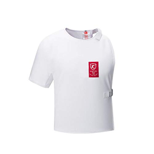 XIURAB Children Adult Fencing Vest, Fencing Suit, CE Certified 350N Fencing Equipment Protective Suit
