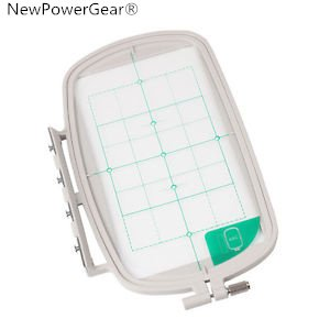 Big Save! NewPowerGear Large Embroidery Hoop Replacement For Brother Innov-is 500D, Innov-is 900D, I...