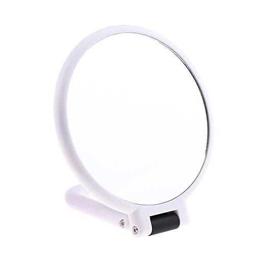 SDENSHI Poignée Pliable De Bureau De Miroir Cosmétique De Maquillage Grossissant De Double Côté Portatif - # 4Grossissant X3