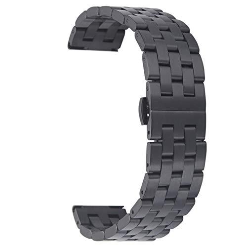 Pulsera de reloj de metal para Apple Watch Band 38mm 42mm 40mm 44mm Correa de metal de acero inoxidable para iwatch SE 6 5 4 3 2 1 Belt